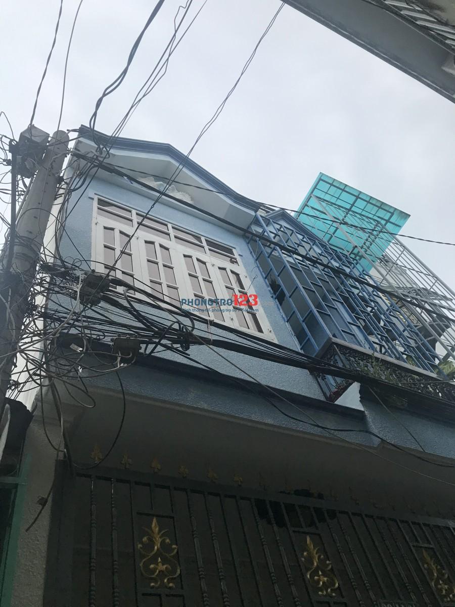Cho thuê nhà nguyên căn hẻm 39 Hoàng Bật Đạt, P15, Tân Bình, TPHCM