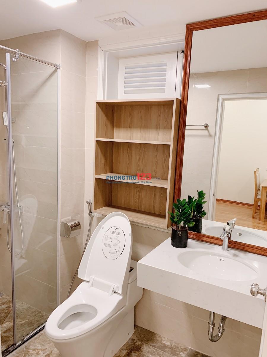 Cho thuê căn hộ 28A3 Phạm Hồng Thái: DT 50m2, 1PN, nội thất đẹp như hình, giá 7.5 triệu/tháng