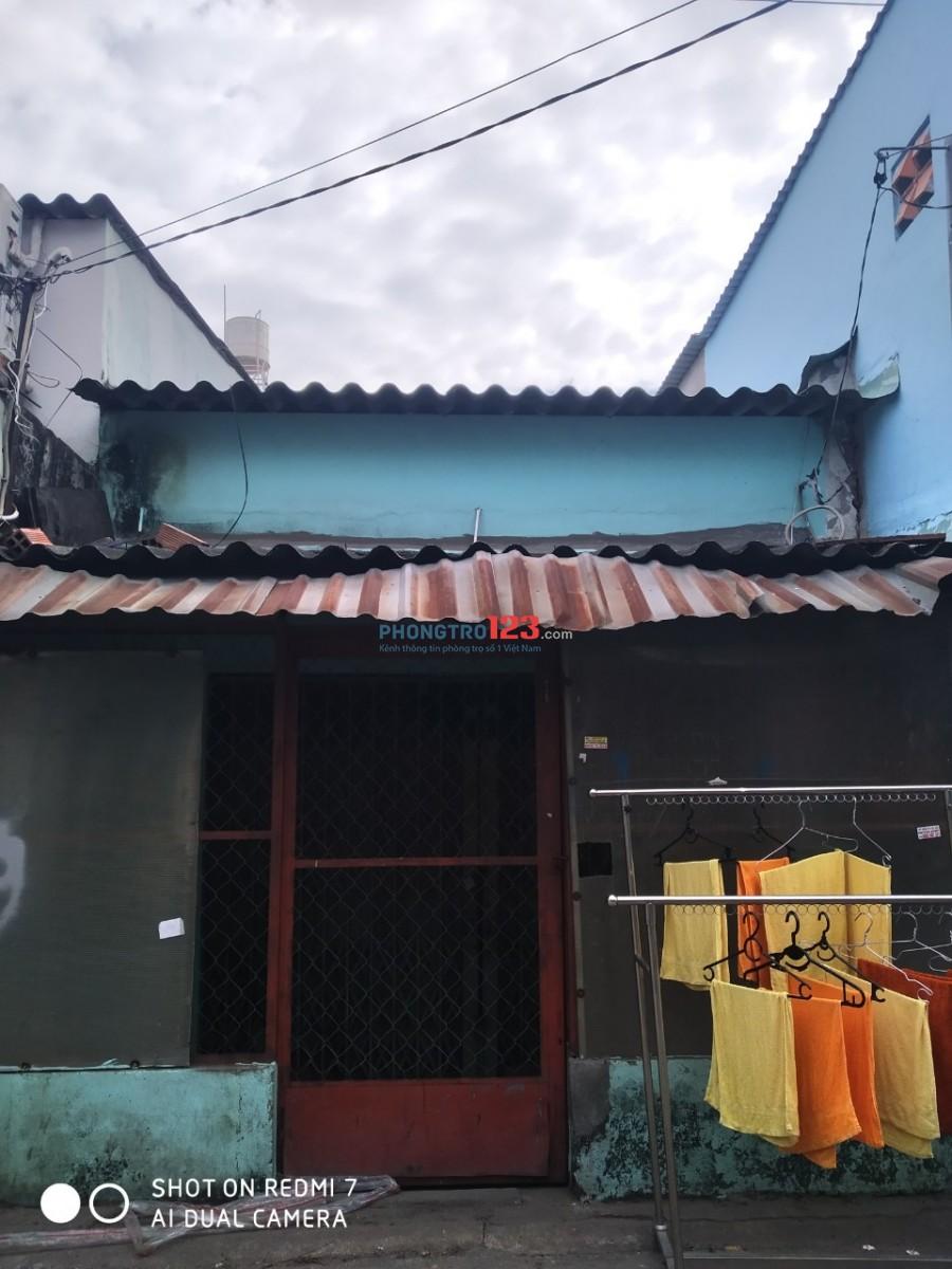 Nhà nguyên căn nhà riêng 4m x 8m giá thuê 3tr/tháng, Bình Tân cho thuê