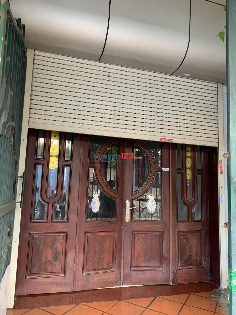 Chính chủ cho thuê nhà mặt đường83 An Dương Vương, Phú Thượng, Tây Hồ, Hà Nội.Diện tích: 40 m2