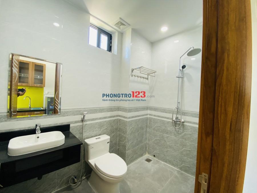 Cho thuê căn hộ full nội thất mới 100% gần FPT. Diện tích: 35 -45m2. Giá chỉ từ: 3,500,000-4,500,000( tuỳ loại phòng)