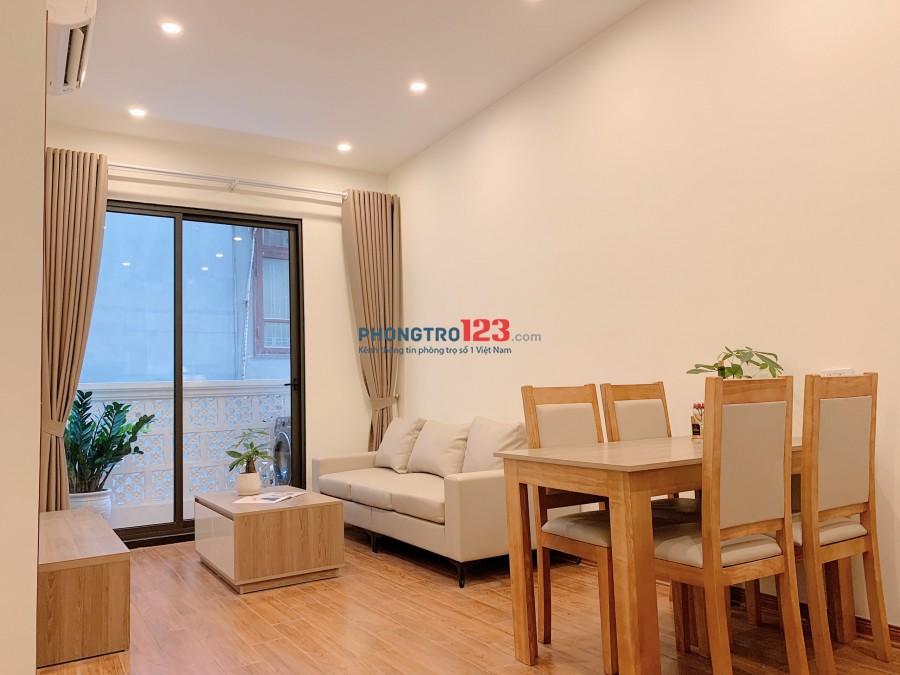 Cho Thuê căn hộ cao cấp full nội thất, nhà mới đẹp 1pn và 1pn, 55m2, giá thuê 7tr2/tháng