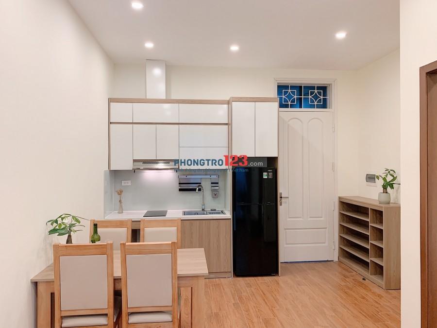 Cho Thuê căn hộ 1k1n, Studio full nội thất Quận Ba Đình, Hoàn Kiếm, diện tích 55m2