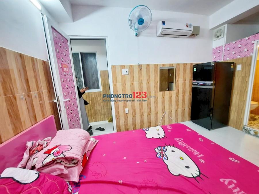 Cho thuê phòng trọ cao cấp, full nội thất giá rẻ nhất Quận Gò Vấp, Dt 25M2, 1PN