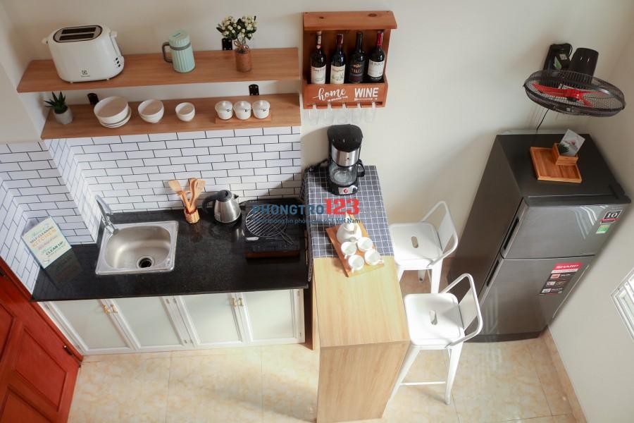 Căn hộ mini kiểu Studio có gác diện tích 25m2, full nội thất - Gần TTTP