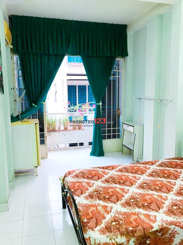 Cho Thuê Phòng Quận 3. Giá 3tr9 full nội thất có ban công, diện tích 26m2.