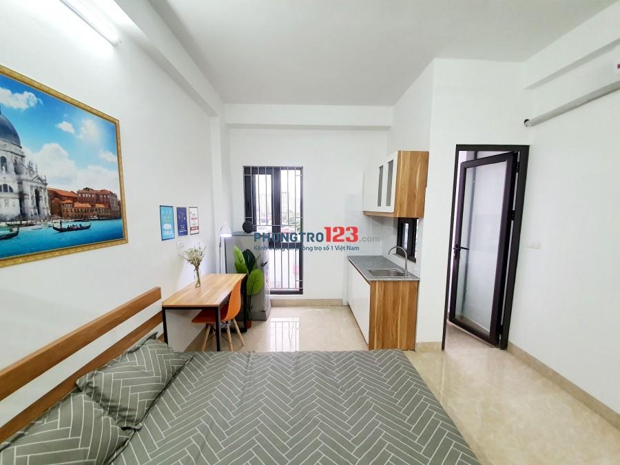 Cho thuê phòng trọ khu vực Yên Xá Tân Triều full đồ