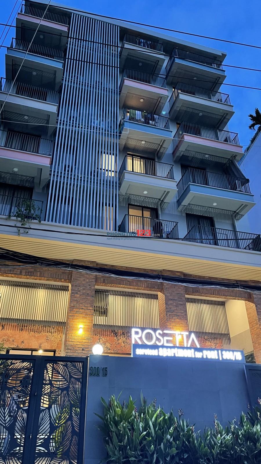 Căn hộ mini đủ nội thất Rosetta Quận 7. Có giảm giá cho các hợp đồng từ 1 năm