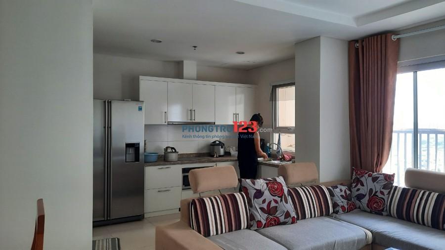 Cho thuê chung cư 2PN - 88m2 full đồ view thoáng tại Golden Palace Mễ Trì - Nam Từ Liêm