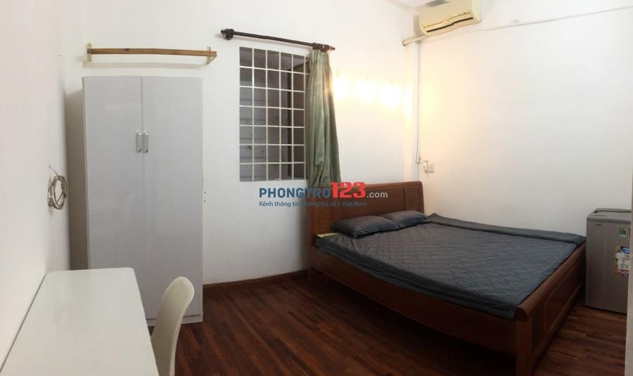Phòng cho thuê có nội thất, Nguyễn Văn Thương, P25, Q.Bình Thạnh