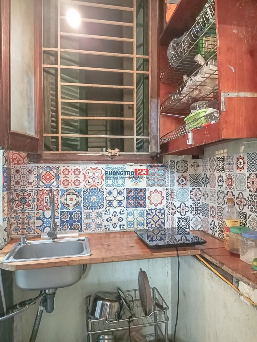 Phòng trọ khép kín đủ đồ, kệ bếp tại Nguyễn Lương Bằng, Đống Đa