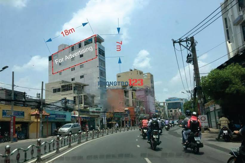 Mặt bằng đẹp cho thuê đường Tân Sơn Nhì,Q.Tân Phú – Giảm Giá nhiều (ở lại được, WC riêng - KD tự do)