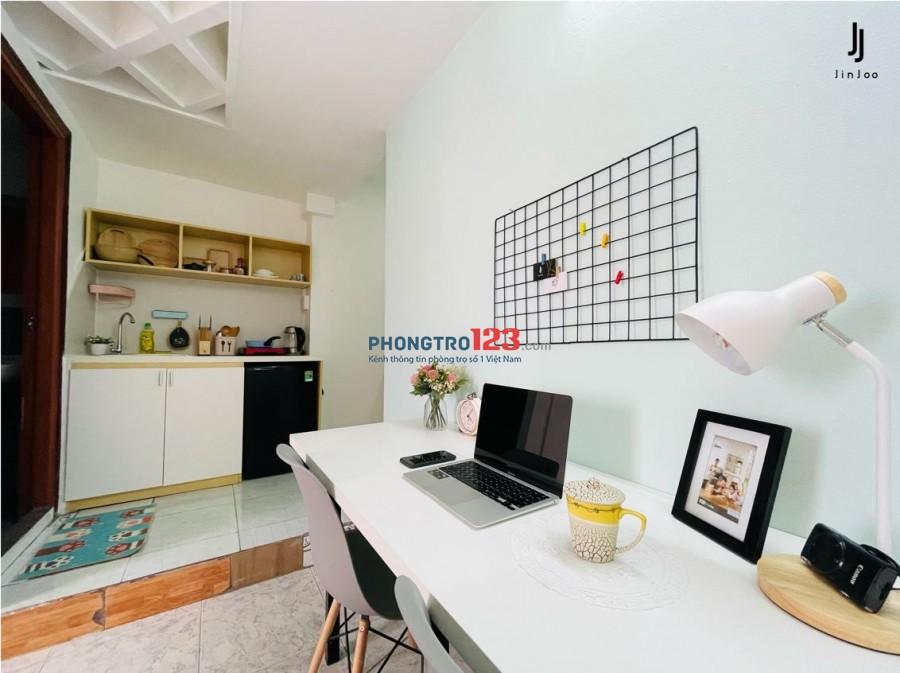 Jinjoo Home - Cho thuê phòng 28m2, đường Nguyễn Văn Cừ, quận 1