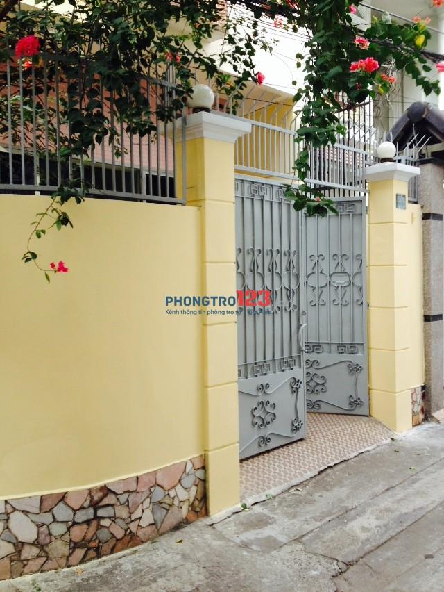 Cho thuê nhà Hồ Văn Huê, Phường 9,Q. Phú Nhuận phù hợp ở, VP
