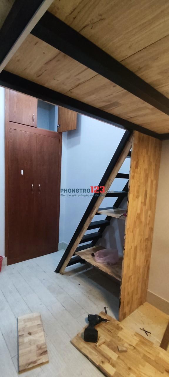 Phòng cho thuê đường Trương Định quận 3, full nội thất. 20m2, 4 triệu/tháng