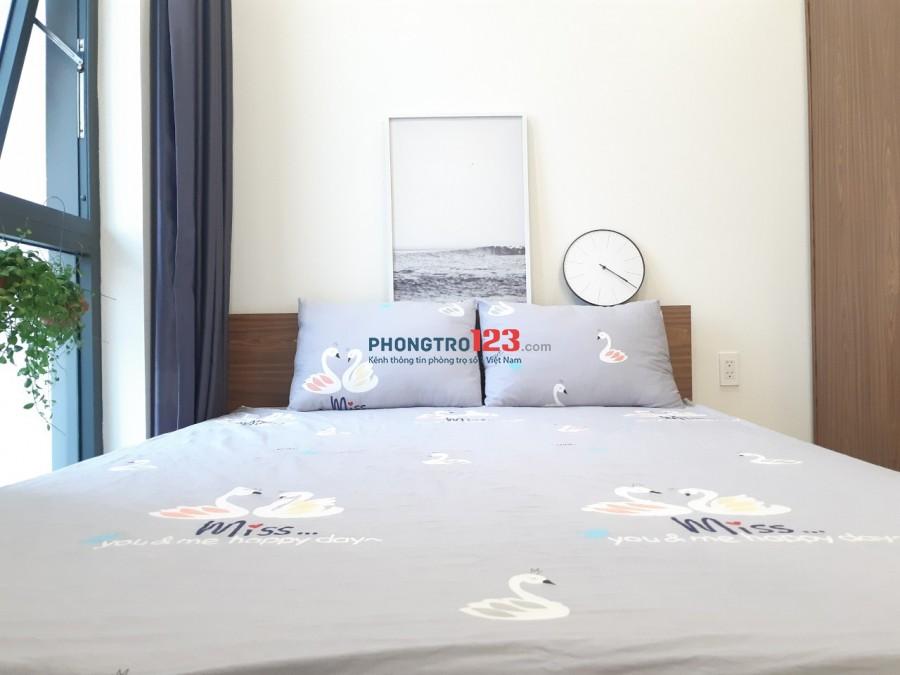 Cho thuê căn hộ mini cao cấp bancon Lý phục man Q7