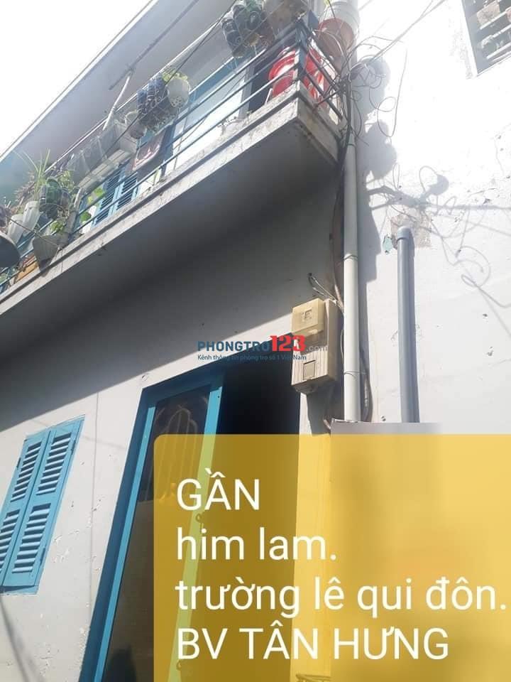 Cho thuê phòng trọ khu vực 861/139/14 Trần Xuân Soạn, Phường Tân Hưng, Quận 7