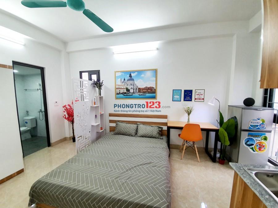 Cho thuê phòng Full đồ, khép kín, có ban công cuối Nguyễn Khuyến,HĐ