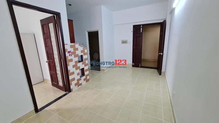 Chung Cư Khang Gia Gò Vấp, 60 m2, giá 6 tr/tháng, Có một số nội thất