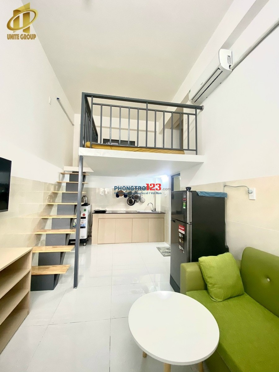 Căn hộ Duplex full nội thất, diện tích 40m2 giá thuê 5 triệu/tháng