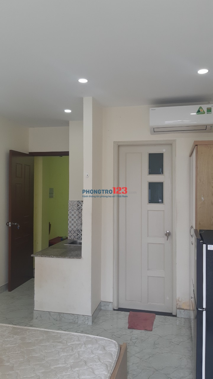 Cho thuê căn hộ đường Nguyễn Cửu Vân ngay Đại Học Hutech , chỉ 4.5 triệu/tháng